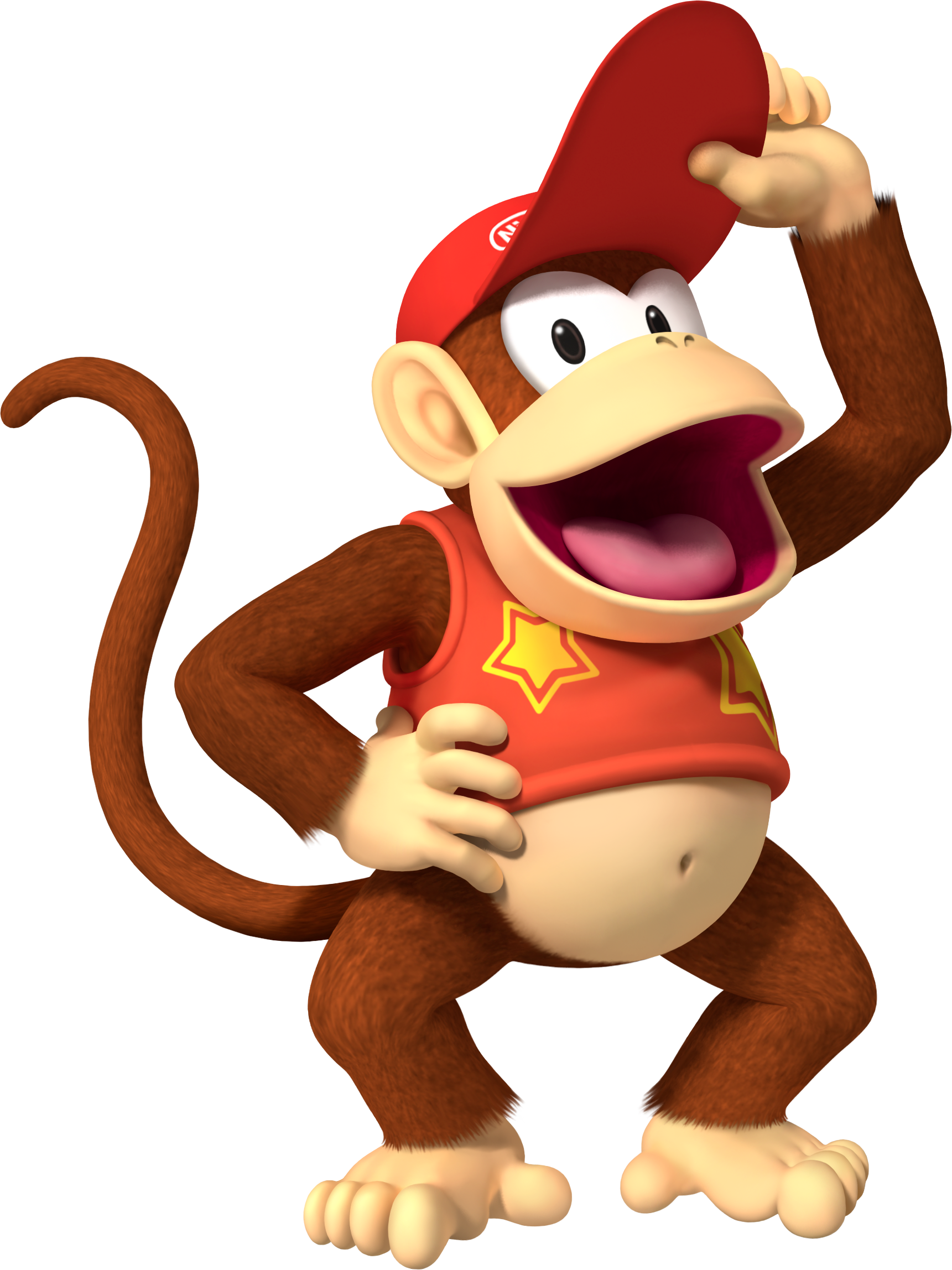 Diddy Kong - Mario Kart Wii.png