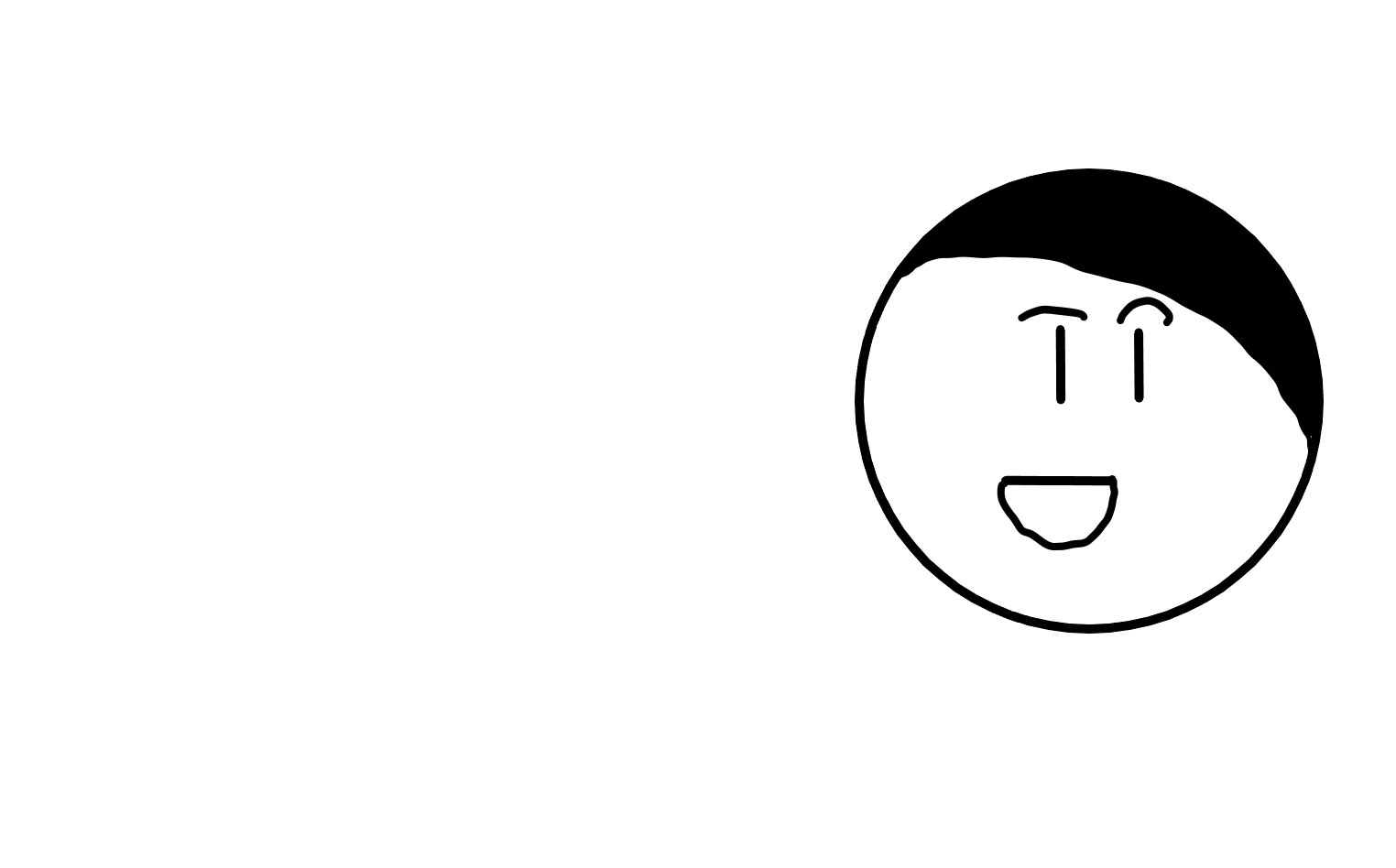 Talking face - looking left smiling.png