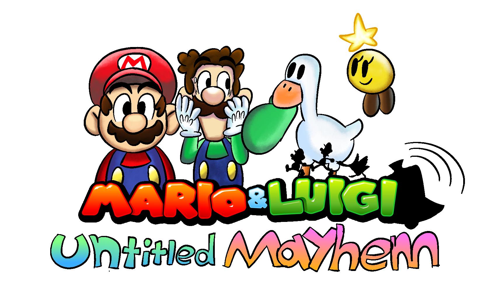 Goose really loves Luigi's hat.